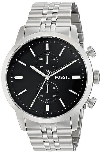 Fossil FS4784 - Reloj (Reloj de pulsera, Masculino, Acero inoxidable, Acero inoxidable