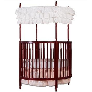 Amazon Com Dream On Me Sophia Posh Circular Crib Cherry