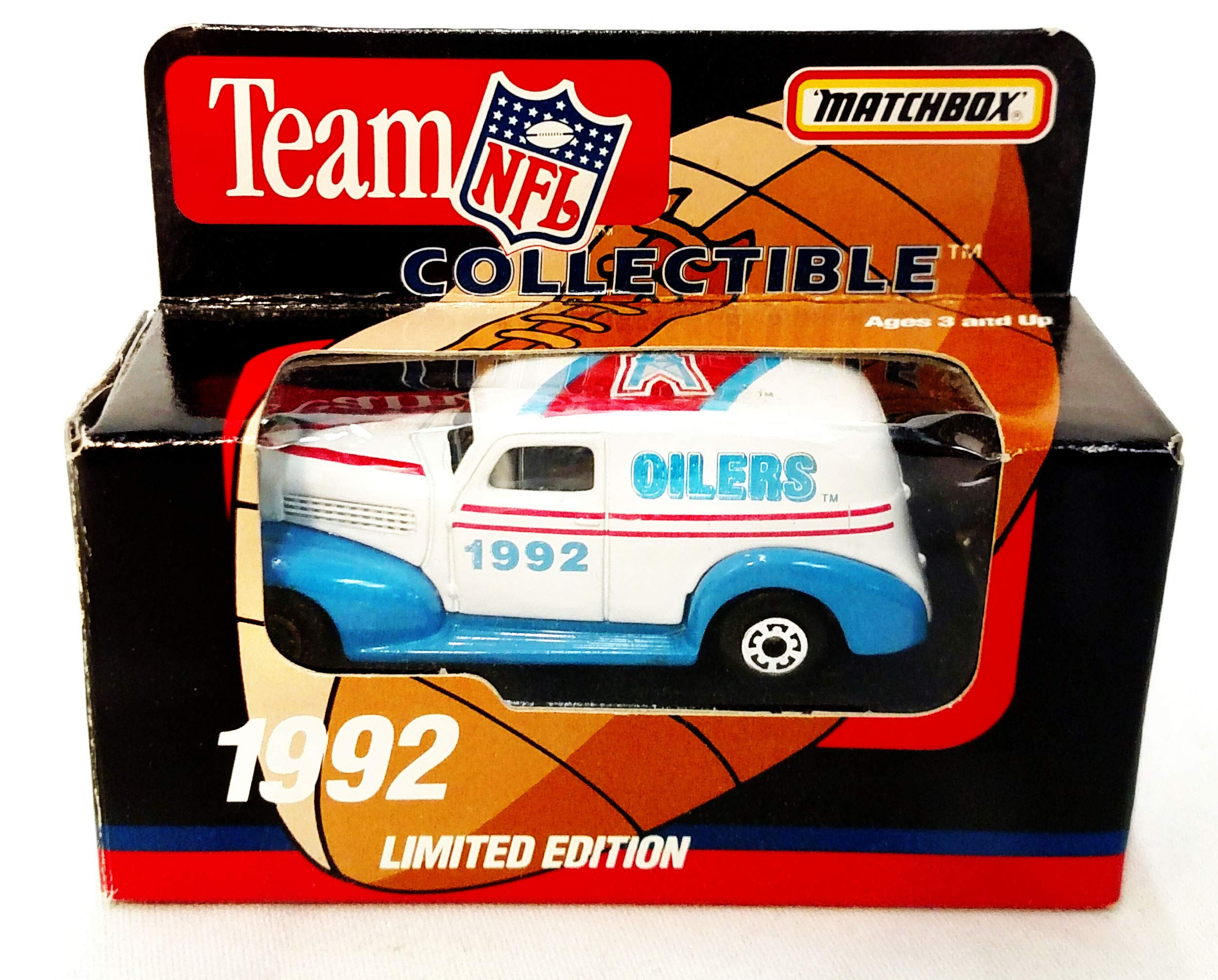 Houston Oilers 1992 Limited Edition Matchbox Die Cast Collectible