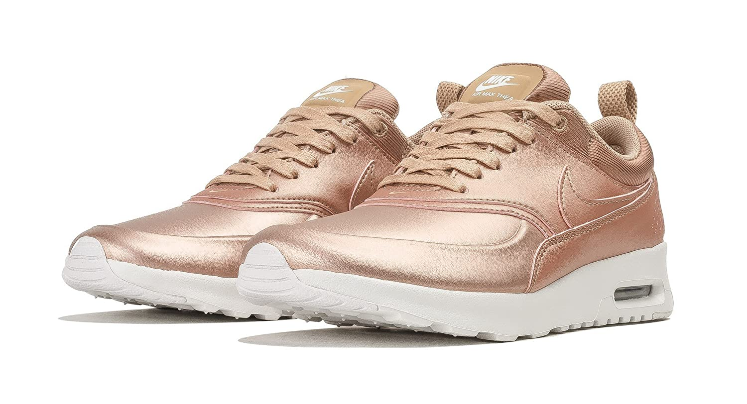 89b54d71b5 Amazon.com | Nike Air Max Thea SE Womens Metallic Red Bronze 861674-902  (8.5) | Track & Field & Cross Country