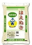 【精米】 山形県産 白米 はえぬき 5kg 平成29年産