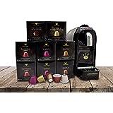 SWISS PRESSO Coffee Machine, Espresso Coffee Capsule, Drip Coffee Machine, Espresso Capsule With 80 Capsules NESPRESSO Capsule Compatible