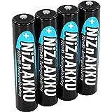 ANSMANN 1321-0001 Nickel Zinc Batterie rechargeable AAA 900mWh conditionnées par 4