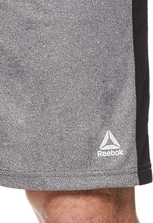 Athletic Running /& Workout Short w// Pockets Reebok Mens Drawstring Shorts