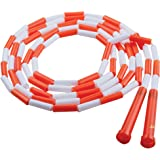 Champion Sports PR10 Plastic Segmented Jump Rope, 10'