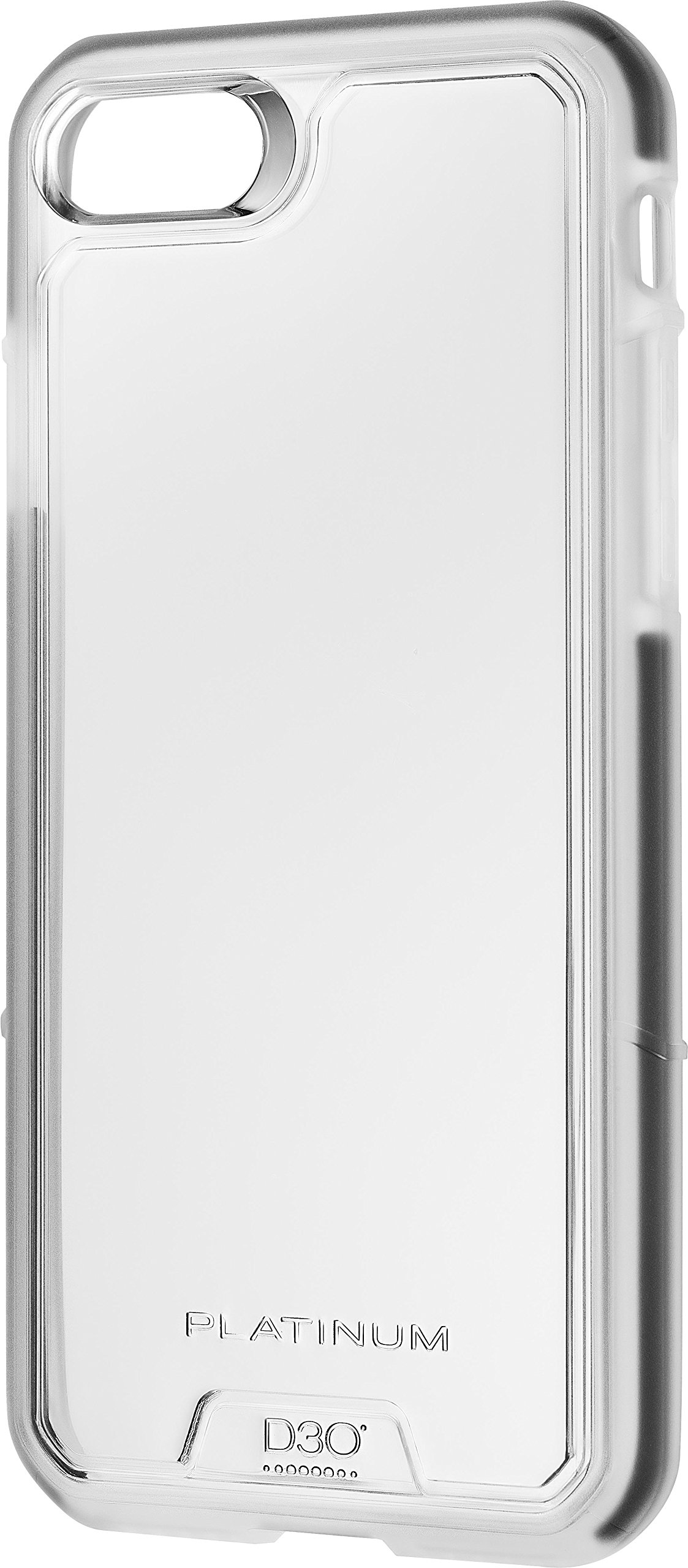 Platinum Case for Apple iPhone 8 and iPhone 7 - Clear - Model: PT-MA7SD3C