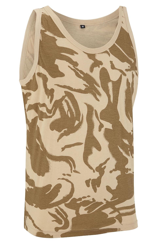Camouflage Military Vest Top - British Desert