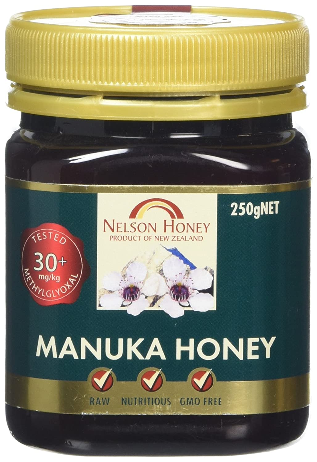 Nelson Honey New Zealand Manuka Honey (30+) 250g