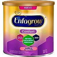 Leche de Crecimiento para Niños de 1 a 2 años, Enfagrow Confort, Lata de 567 gramos