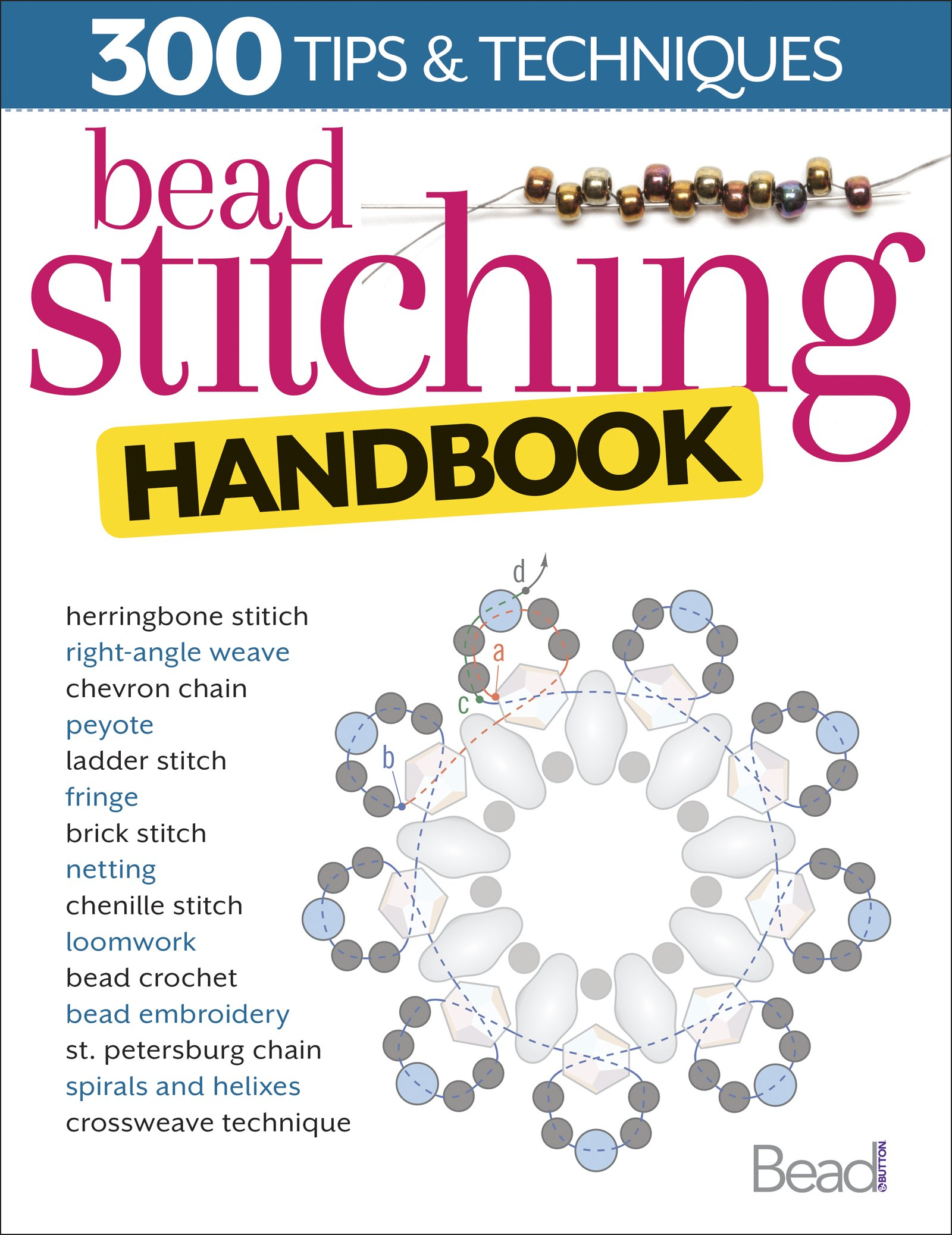Bead Stitching Handbook Button magazine product image