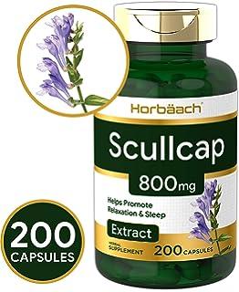 Amazon com: Solaray Skullcap Capsules, 425 mg, 100 Count