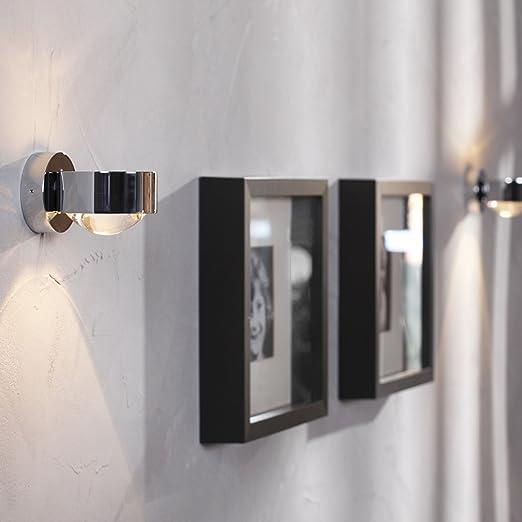 Puk Wandleuchte puk wall wandleuchte chrom glänzend glas linse amazon de küche