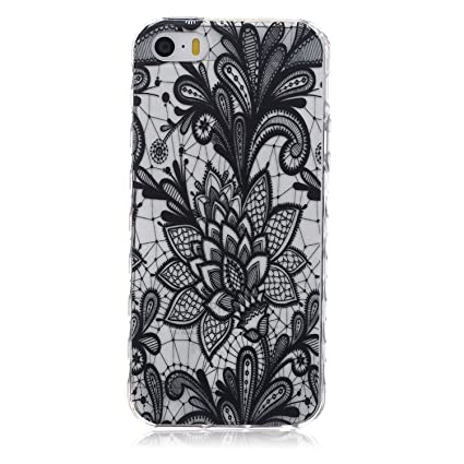 8c2a85ca9ec Amazon.com  iPod Touch 6   5 Case with Henna Mandala Floral Paisley ...