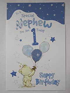 Hallmark disney baby 1st birthday grandson card love medium square wonderful colourful to a special nephew 1 today 1st birthday greeting card bookmarktalkfo Image collections