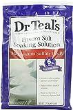 Dr Teal's Epsom Salt Soaking Solution Magnesium Sulfate U.S.P, 96 Ounce