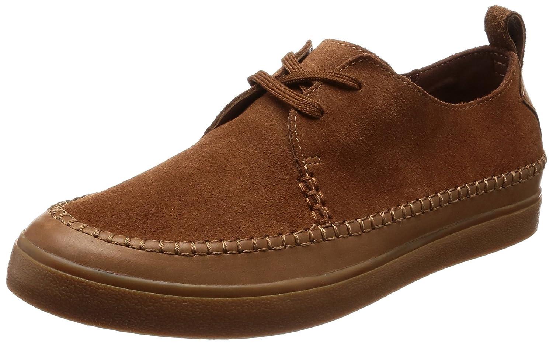Clarks Kessell Craft, Zapatos de Cordones Derby para Hombre 41 EU Marrón (Tan Suede)