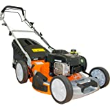 "Tiger TM5120SP 51cm (20"") Self Propelled Petrol Lawn Mower, Briggs & Stratton engine, 2 yr Warranty, Free Delivery, 65L Grass Bag, 4 in 1 Collection System."