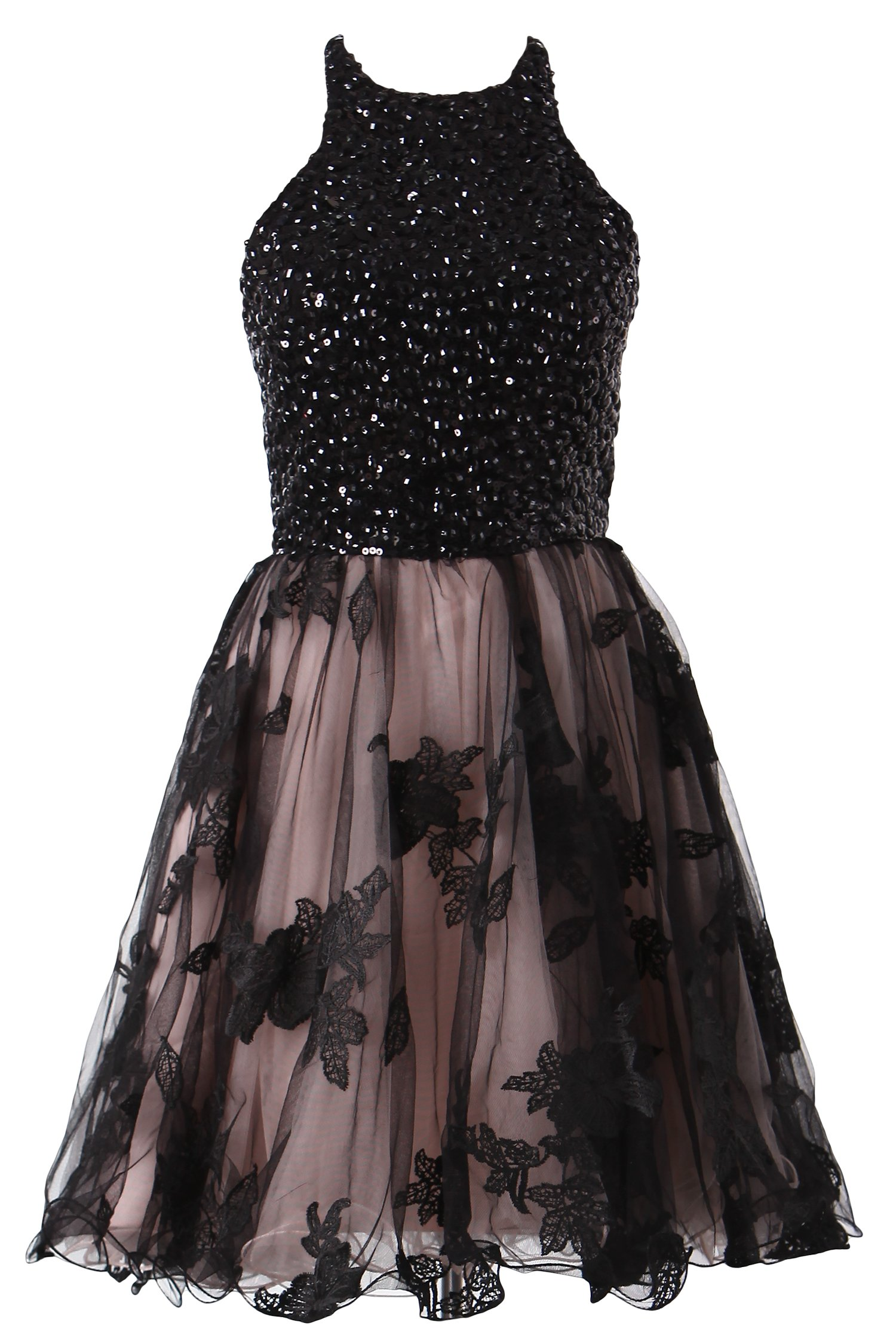 Tdress Girl's Scoop A Line Beaded Homecoming Dresses Size 8 by Tdress (Image #6)