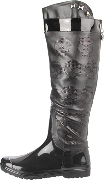 IRON FIST WOMENS ZEBRACORN WOMENS RAIN BOOTS
