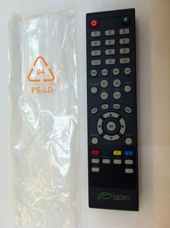 Remote For Seiki SE65UY04 SC-65US703N SE55UET SE50FYT SE48UXC4T SC-43FS703N TV
