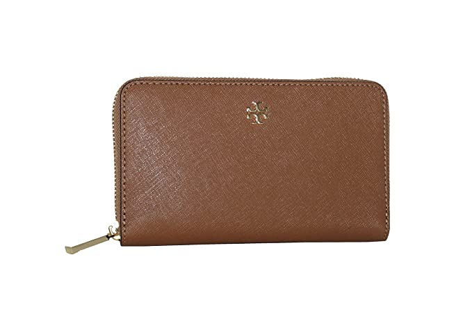 cf85e4522fc Image Unavailable. Image not available for. Colour  Tory Burch Emerson Mini Continental  Zip Around Leather Wallet