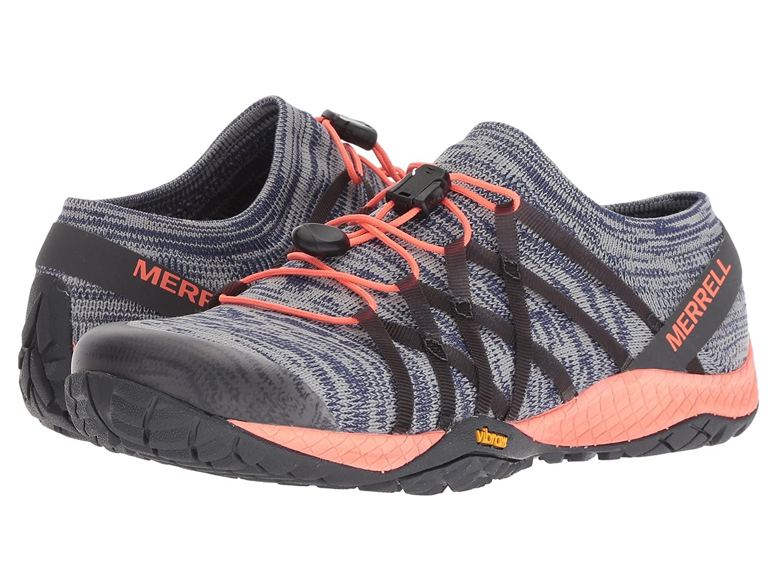 [MERRELL(メレル)] レディースウォーキングシューズスニーカー靴 Trail Glove 4 Knit B07HW1KP7C 23.0 cm|Blue Depths Blue Depths 23.0 cm