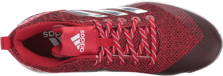 Adidas Herren PowerAlley 5 W Softball-Schuhe Power Red Metallic Silver White