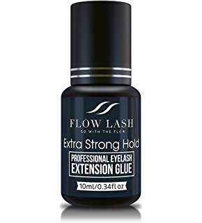 ccba8aa14d2 Professional Eyelash Extension Glue - Extra Strong Hold, Long Lasting,  Quick Dry Time -
