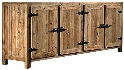 Credenza Per Cucina In Legno : Guarnieri credenza camomilla old wood in legno vecchio di pino