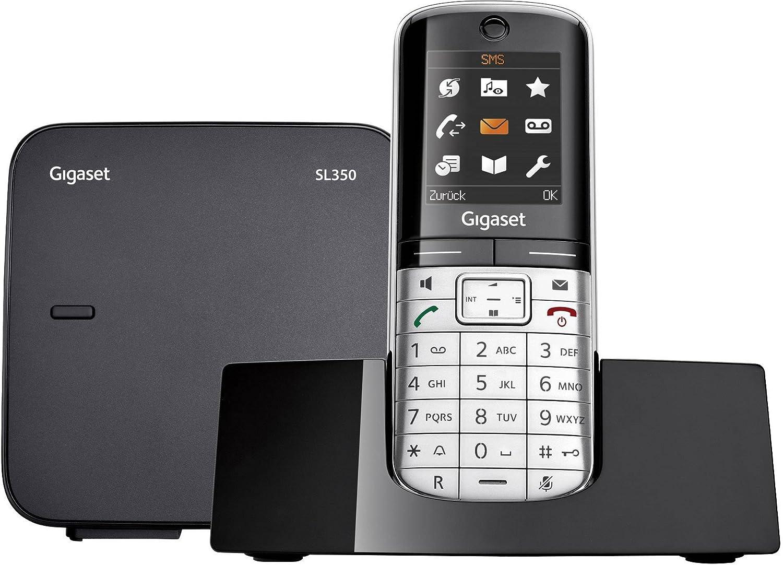 Germania funzione vivavoce Telefono DECT Cordless//Cordless Gigaset SL350 Display a colori Telefono cordless