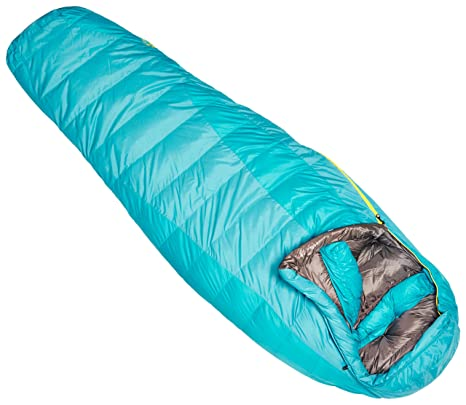 Marmot Teton - Saco de dormir, color turquesa, talla Right Zip