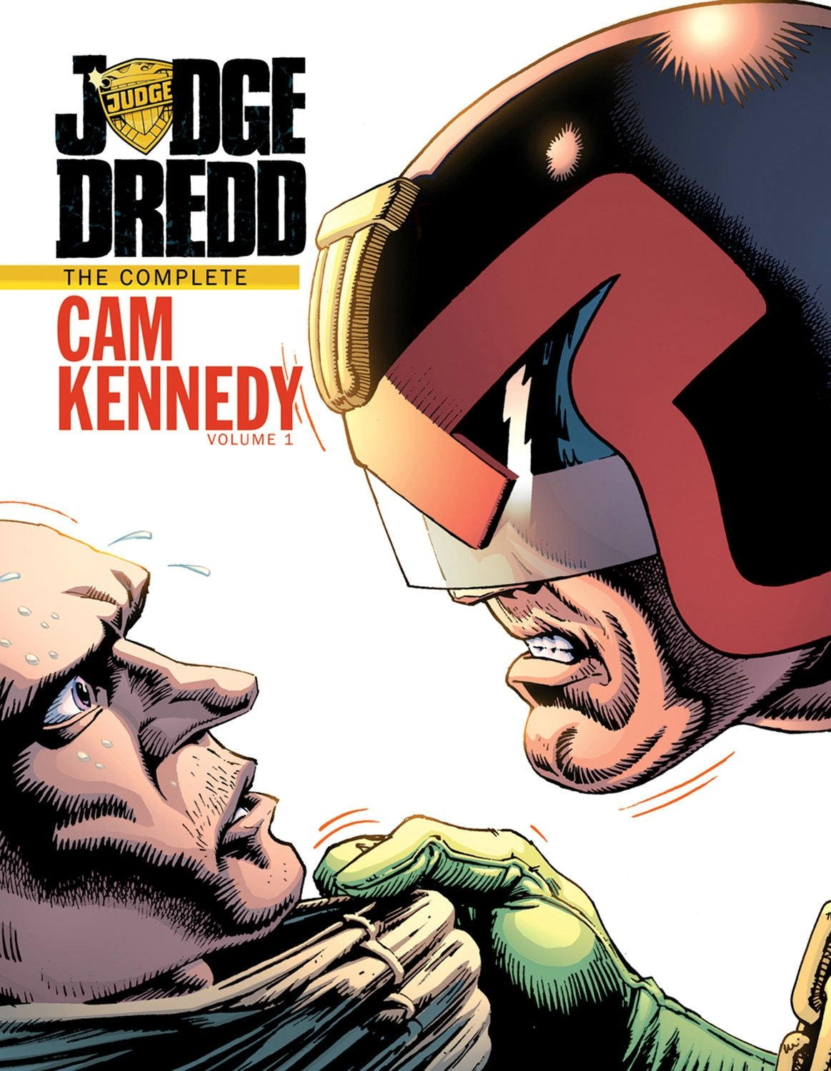 Judge Dredd: The Cam Kennedy Collection Volume 1 by IDW