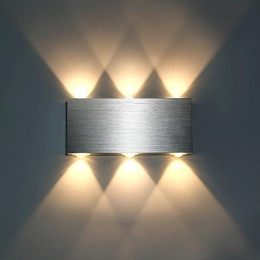LED Wandleuchte Design Wohnzimmer Wand Lampen Schlafzimmer Flur Leuchte drehbar