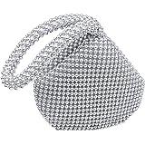 Hysagtek Women Bling Sequins Zipper Pouch Wedding Engagement Evening Party Bag Purse Wristlet Clutch Bag Pouch