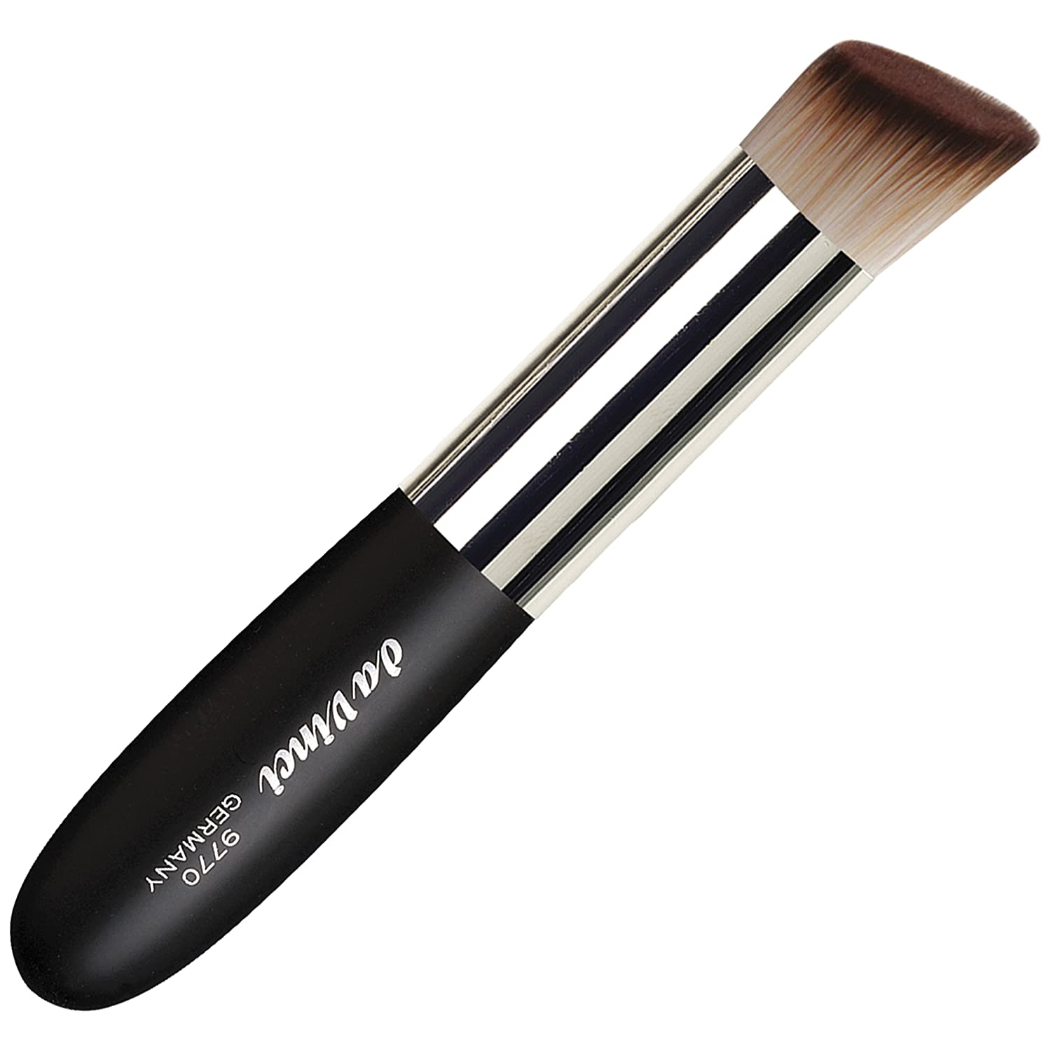da Vinci Series 9770 Synthetic Foundation and Creamy Blush Slant Liquid Makeup Brush, 43.7-Gram