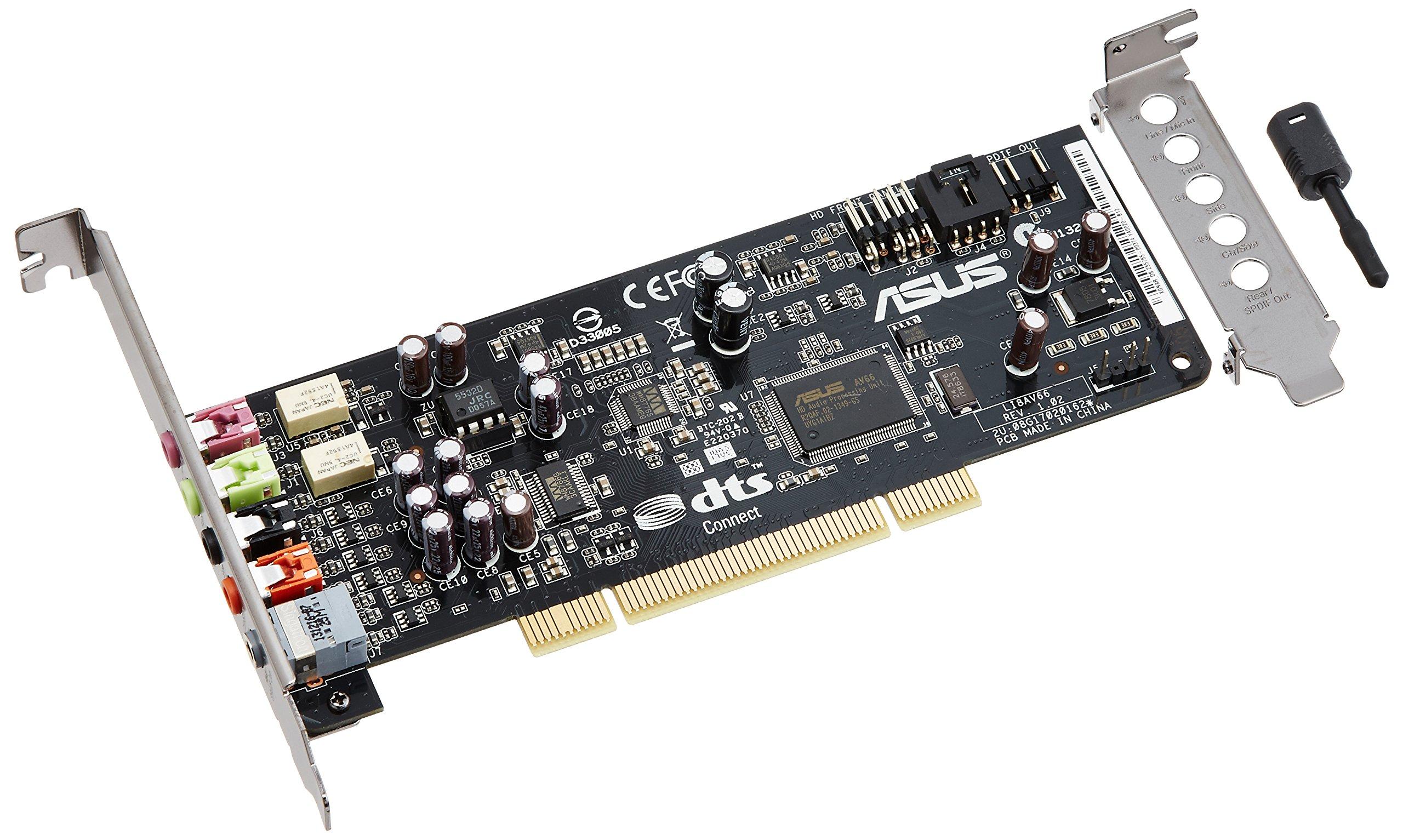 ASUS Xonar DS 7.1 Channels PCI Interface Sound Card