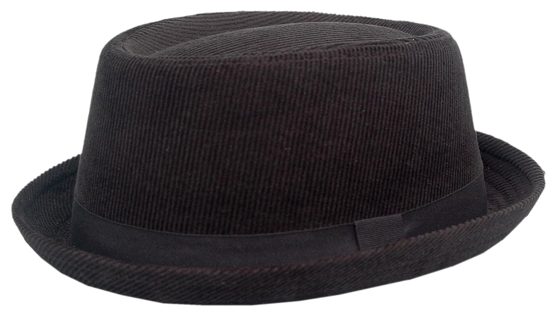 Sombrero Pork Pie Cool4 para Hombre Negro Negro Large