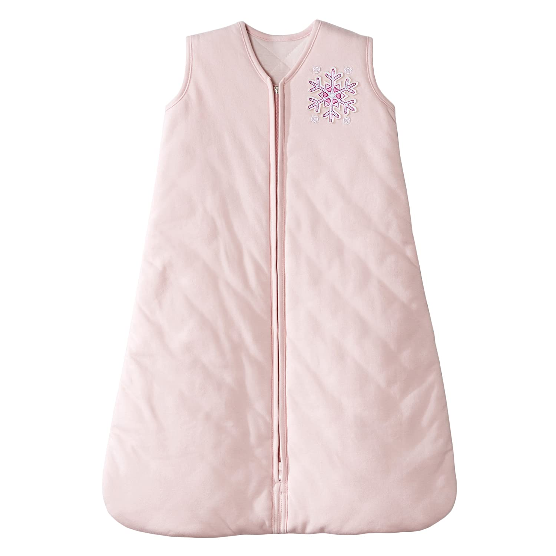 HALO Winter Weight Sleepsack, Pink Snowflake, Large