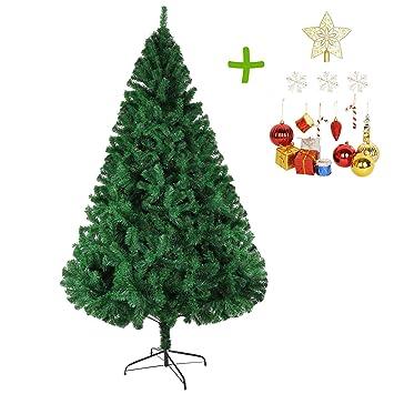 Amazon.com: Lucky árbol 8 ft Premium Árbol de Navidad ...