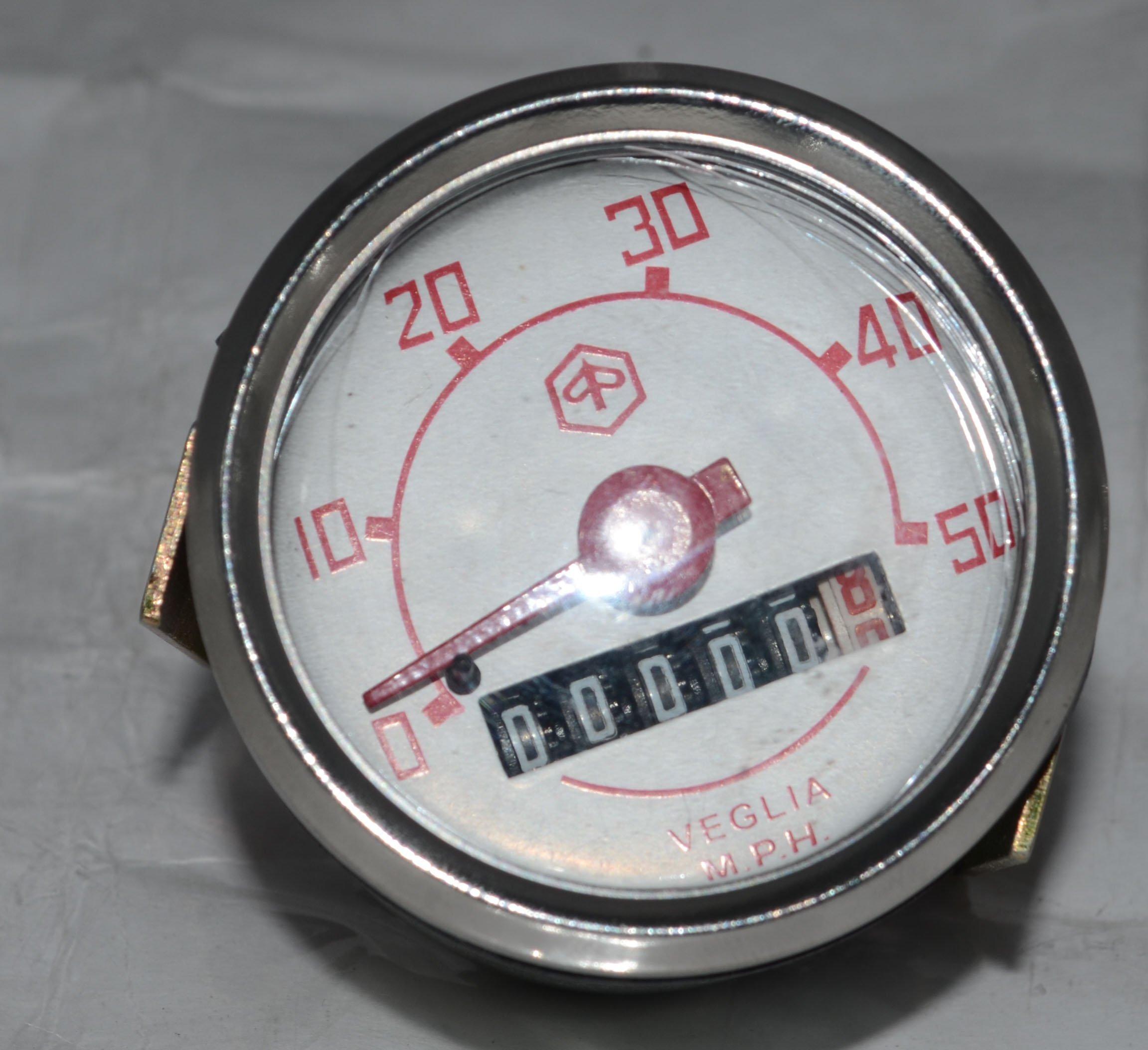 RS Vintage Parts RSV-B018FVK93S-01395 Motorcycle Parts A72 Repro Lucas Ammeter Ampere Meter 8 Amp Bsa Triumph Ariel AJS Norton by RS Vintage Parts