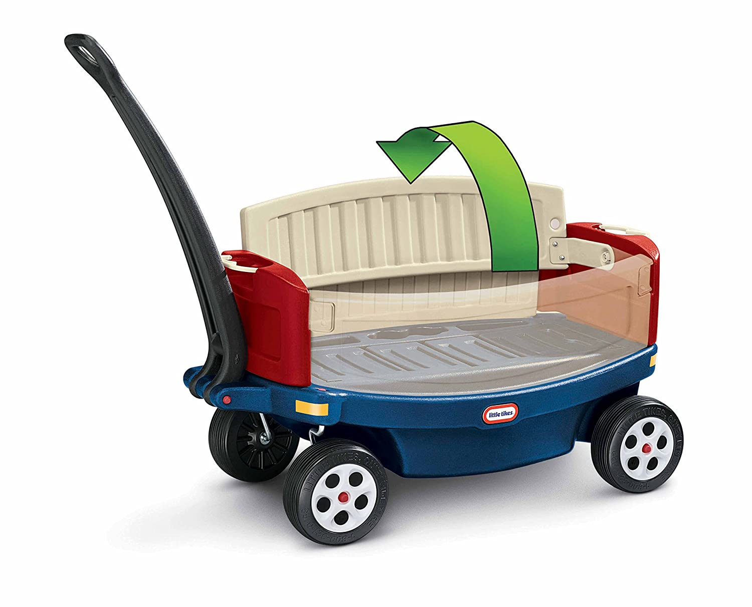 Little Tikes Ride n Relax Wagon: Amazon.co.uk: Toys & Games