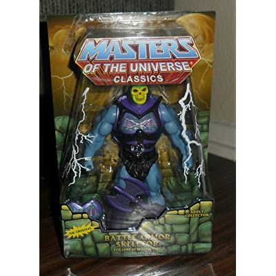 Masters of the Universe Classics MOTU Battle Armor Skeletor Action Figure: Toys & Games