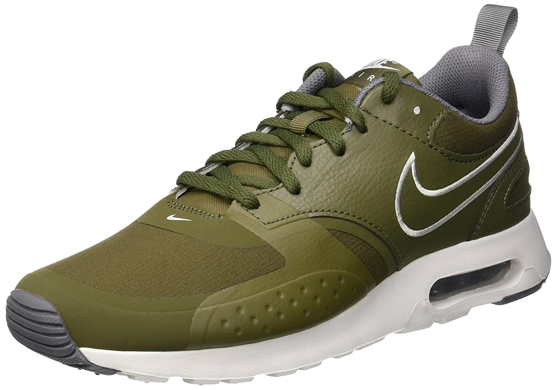 Nike Herren Air Max Vision Se Gymnastikschuhe  45 EU|Gr眉n (Medium Olive/Barely Grey/Cool Grey 202)