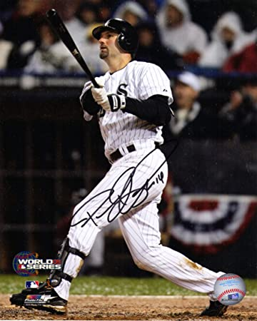 8efb39e435d Paul Konerko Signed White Sox 2005 World Series Gm 2 Gand Slam 8x10 Photo