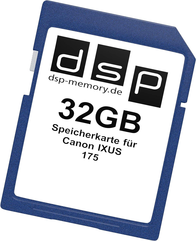 DSP Memory Z-4051557436442 16 GB Negro 16 GB Tarjeta de Memoria para Canon IXUS 175