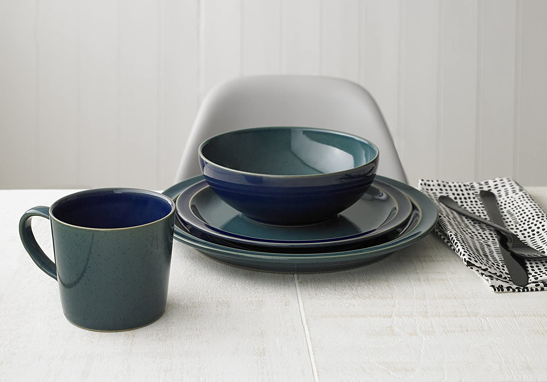 Green//Blue Denby HRL-112GB Harlequin Large Mug