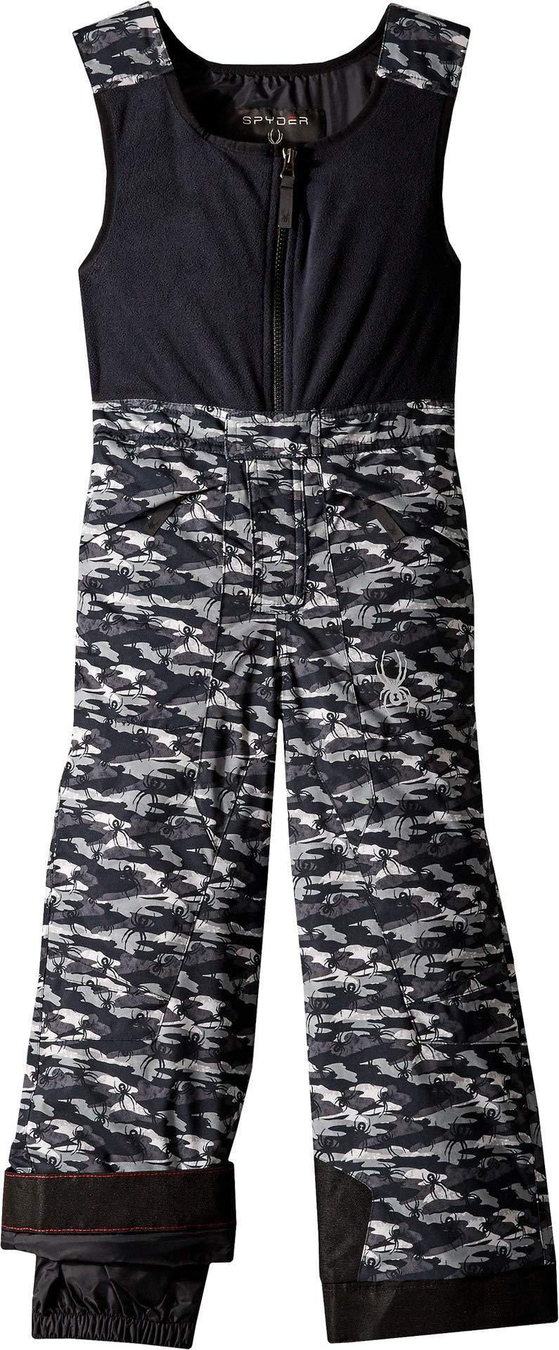 Spyder Boys' Mini Expedition Ski Pant, Camo Black/Black/Black, Size 2