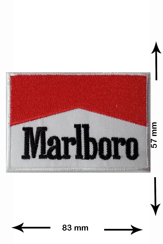 Patch - Marlboro - Motorsport - Motorsport - Marlboro - Aufnä her - zum aufbü geln - Iron On