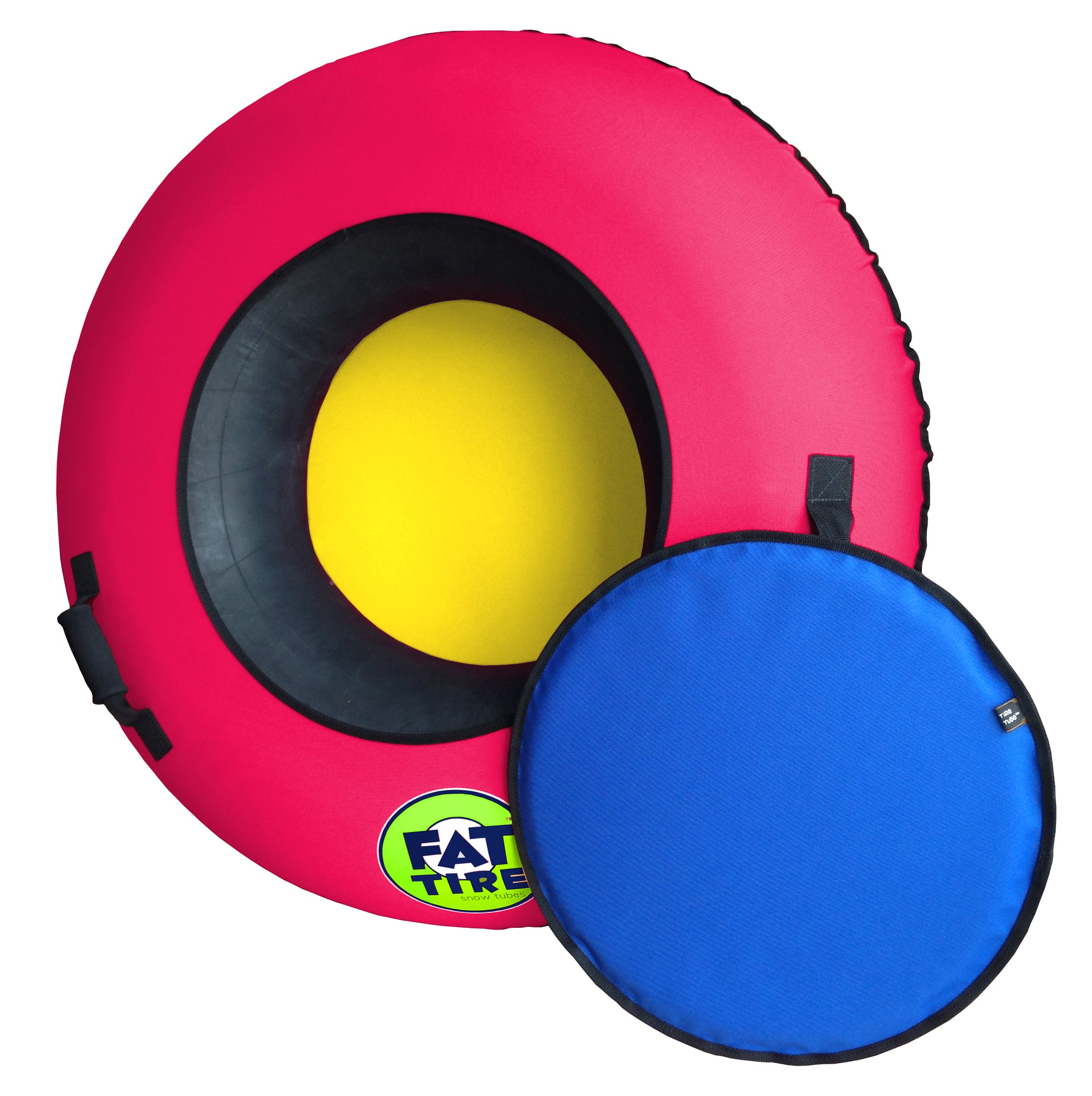 Fat Tire USA Snow Tube (Deluxe Edition), Neon Pink by Fat Tire USA