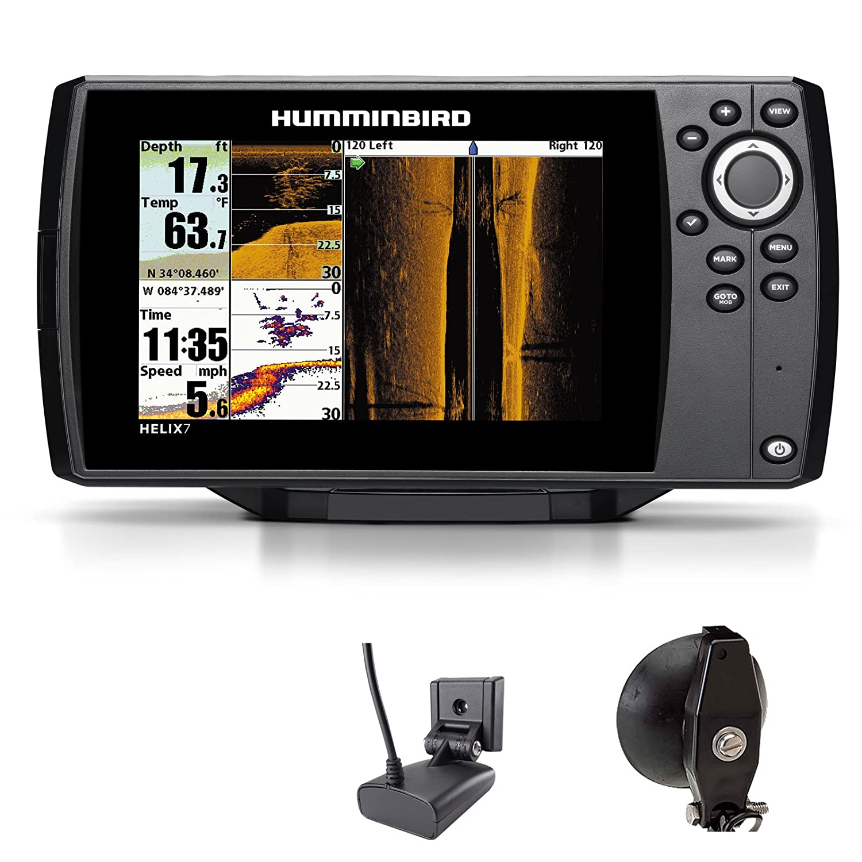 Humminbird Helix 7 SI GPS Side Imaging Echolot Mar tarjeta Combo para plotter Portabel Basic: Amazon.es: Deportes y aire libre